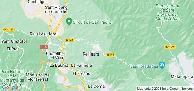 Mapa de Rellinars
