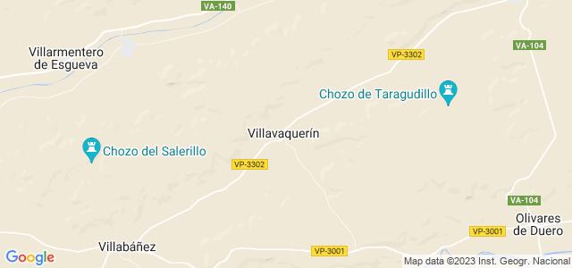 Mapa de Villavaquerín