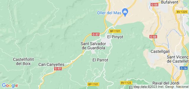 Mapa de Sant Salvador de Guardiola