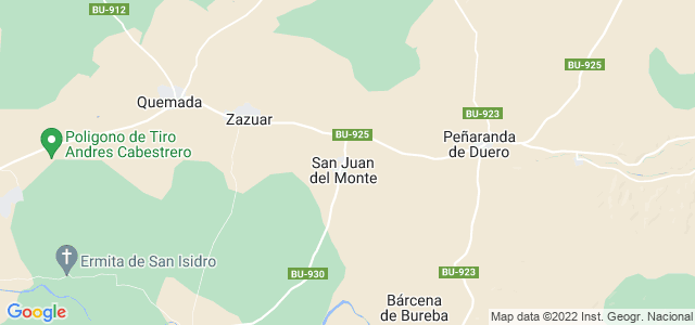 Mapa de San Juan del Monte