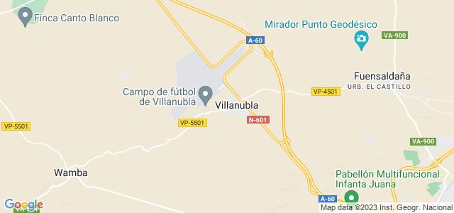 Mapa de Villanubla