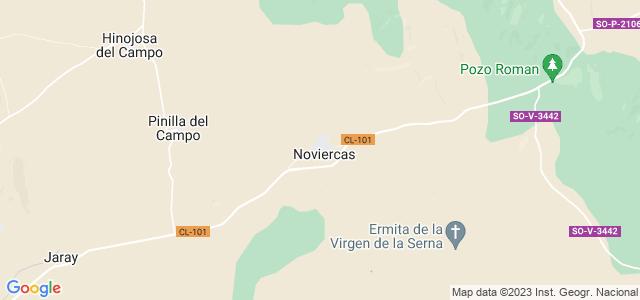 Mapa de Noviercas