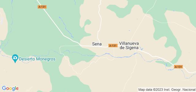 Mapa de Sena