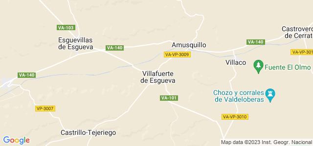 Mapa de Villafuerte