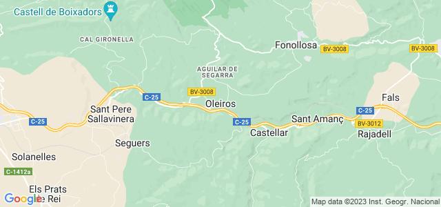 Mapa de Aguilar de Segarra