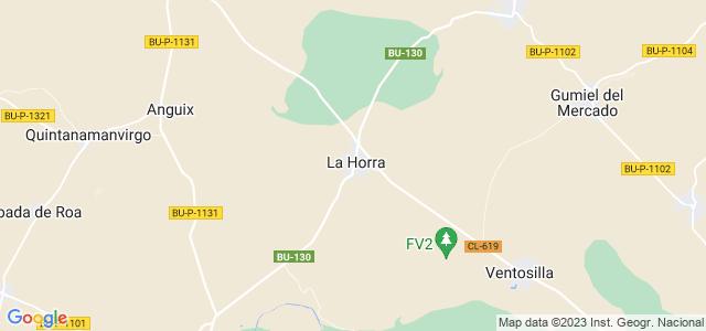 Mapa de Horra