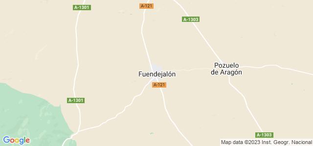 Mapa de Fuendejalón
