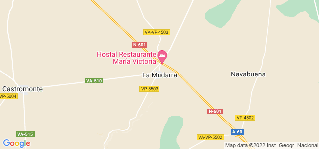 Mapa de Mudarra