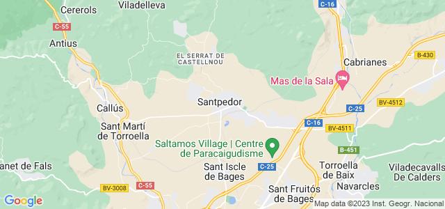 Mapa de Santpedor