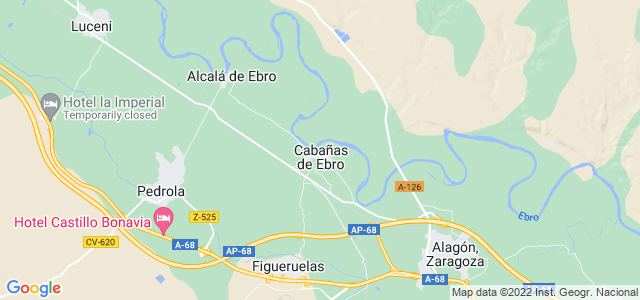 Mapa de Cabañas de Ebro