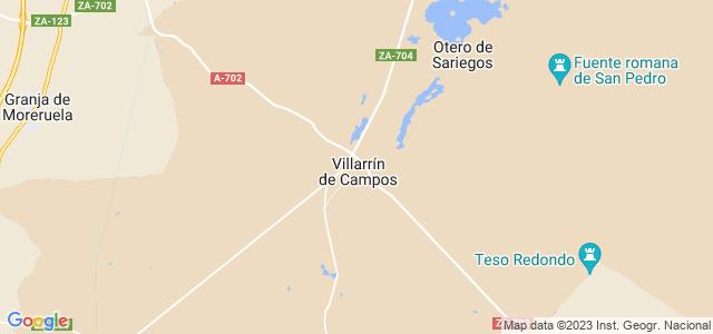 Mapa de Villarrín de Campos