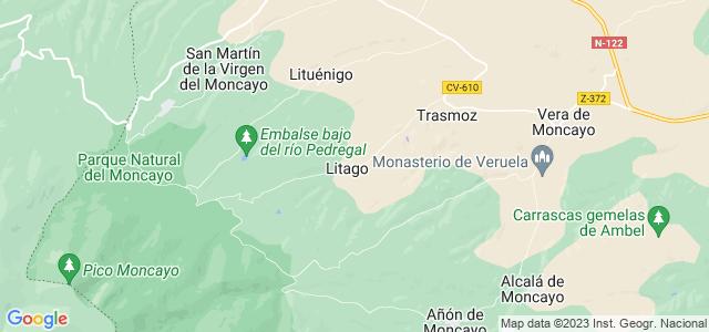 Mapa de Litago