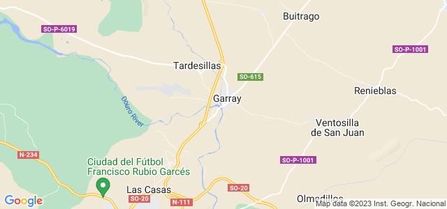 Mapa de Garray