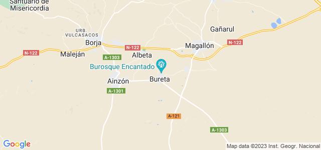 Mapa de Bureta