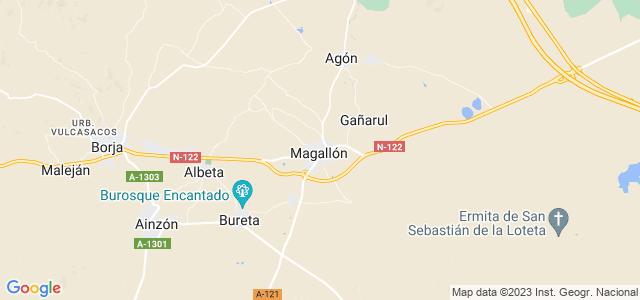 Mapa de Magallón