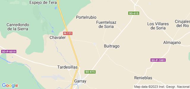 Mapa de Fuentecantos