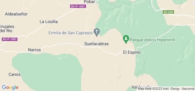 Mapa de Suellacabras