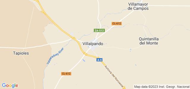 Mapa de Villalpando