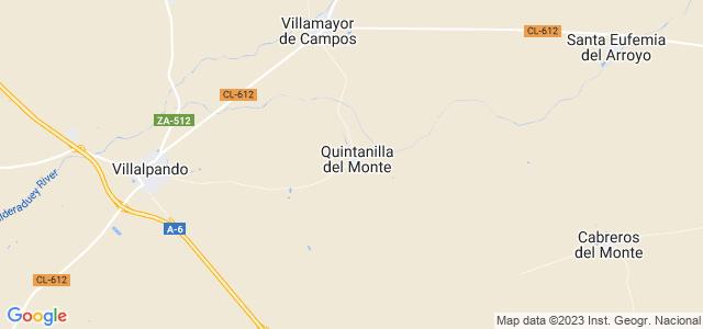 Mapa de Quintanilla del Monte