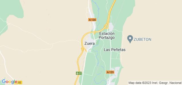 Mapa de Zuera