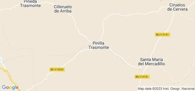 Mapa de Pinilla Trasmonte