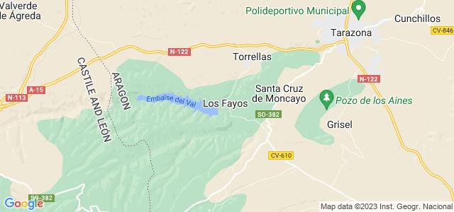 Mapa de Fayos