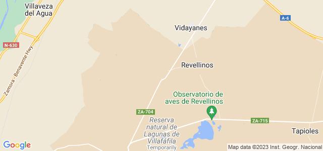 Mapa de San Agustín del Pozo