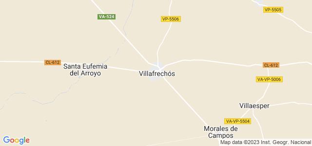 Mapa de Villafrechós