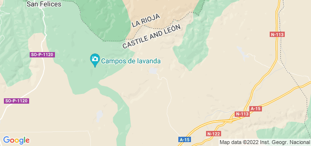 Mapa de Dévanos
