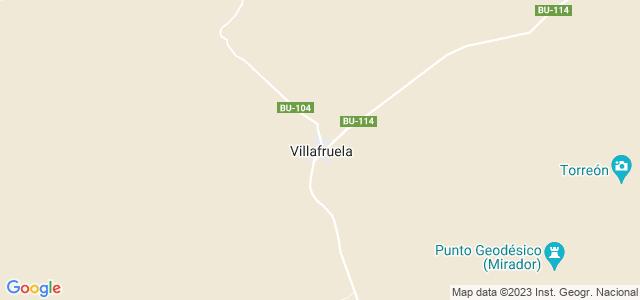 Mapa de Villafruela