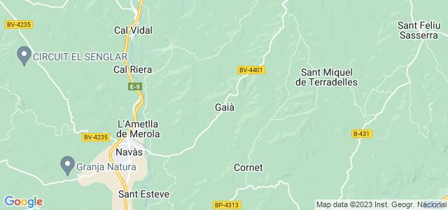 Mapa de Gaià