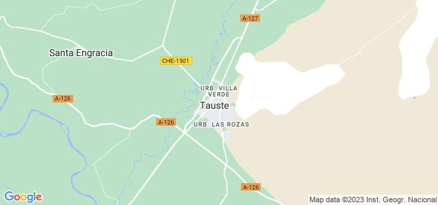 Mapa de Tauste