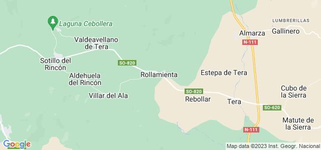 Mapa de Rollamienta