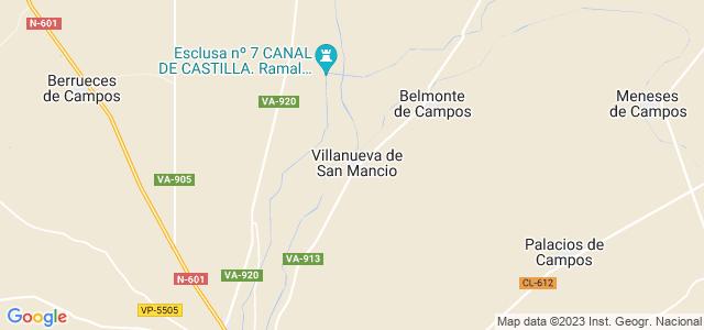 Mapa de Villanueva de San Mancio