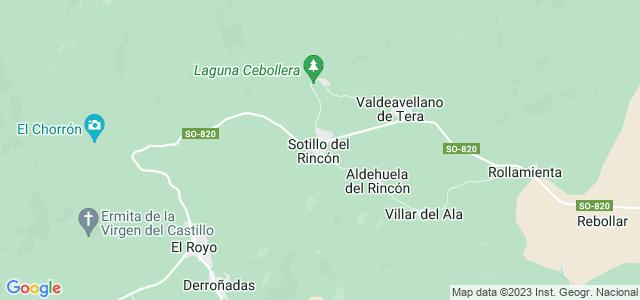 Mapa de Sotillo del Rincón