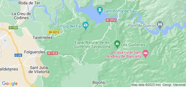 Mapa de Vilanova de Sau