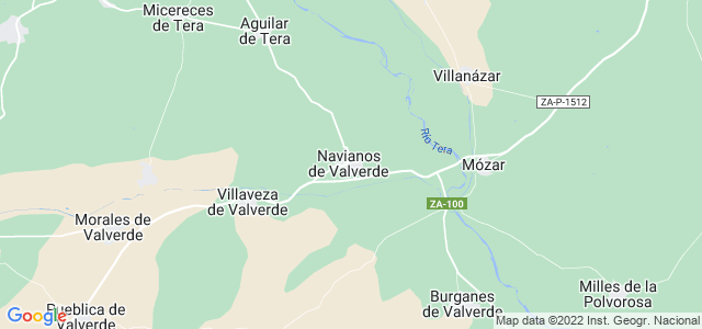 Mapa de Navianos de Valverde