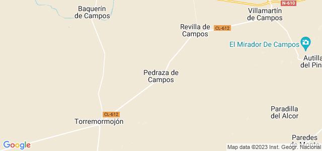 Mapa de Pedraza de Campos
