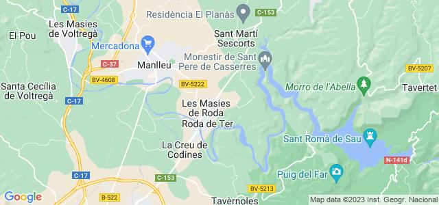 Mapa de Masies de Roda
