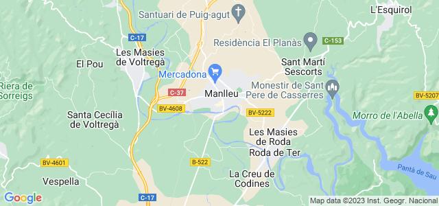 Mapa de Manlleu