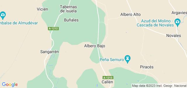 Mapa de Albero Bajo