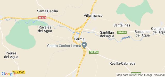 Mapa de Lerma