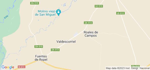 Mapa de San Miguel del Valle