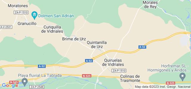 Mapa de Quintanilla de Urz