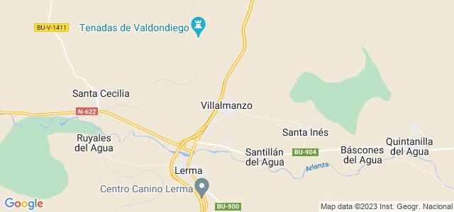 Mapa de Villalmanzo