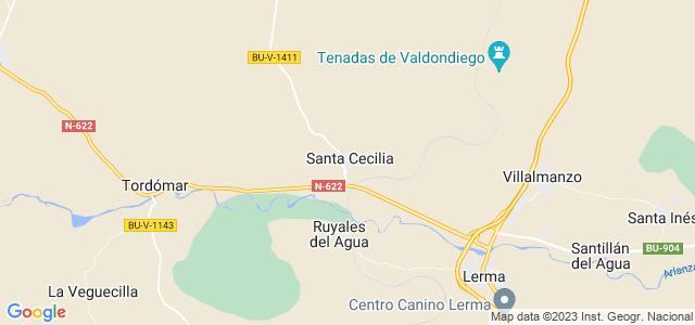 Mapa de Santa Cecilia