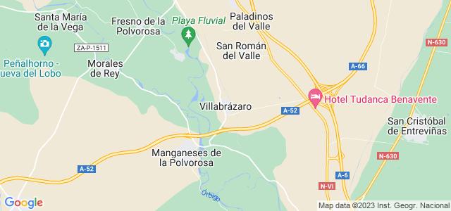 Mapa de Villabrázaro