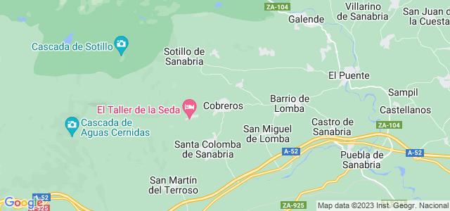 Mapa de Cobreros