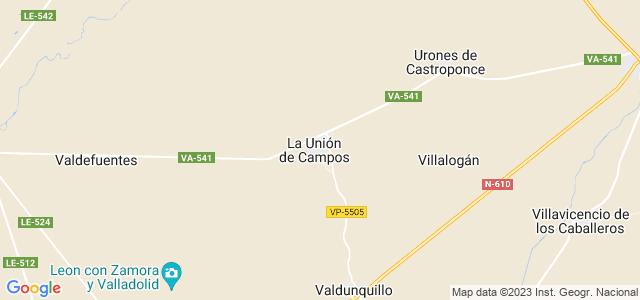 Mapa de Unión de Campos