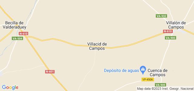 Mapa de Villacid de Campos